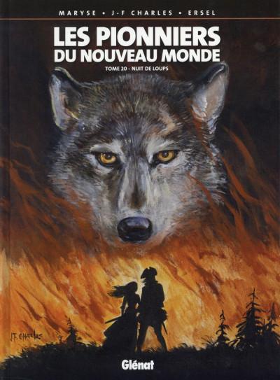 image de Les pionniers du nouveau monde tome 20 - Nuit de loups