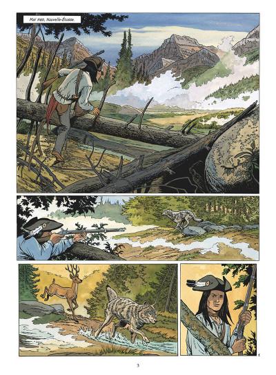 Page 4 Les pionniers du nouveau monde tome 20