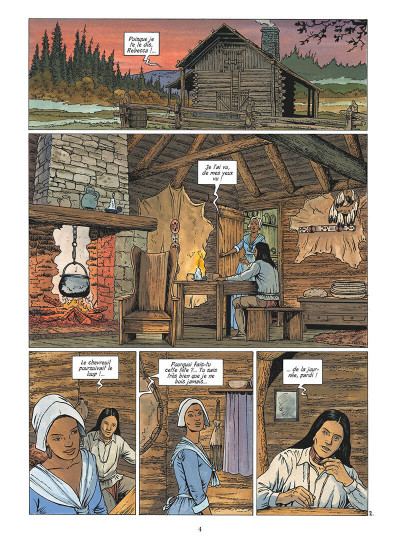 Page 5 Les pionniers du nouveau monde tome 20