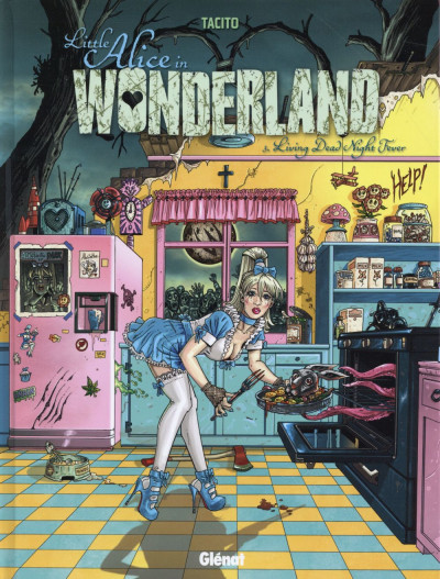Couverture Little alice in wonderland tome 3