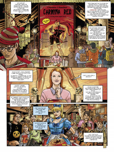 Page 1 Little alice in wonderland tome 3