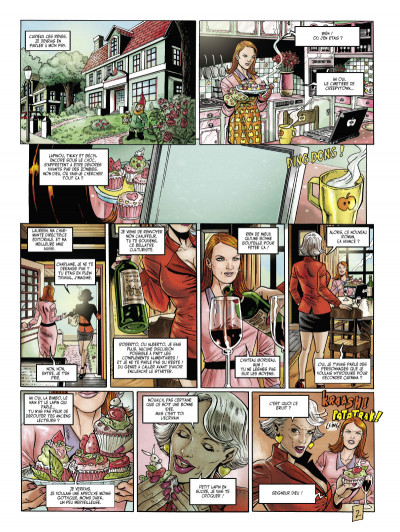 Page 2 Little alice in wonderland tome 3