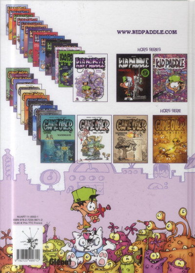 Dos Kid Paddle tome 14