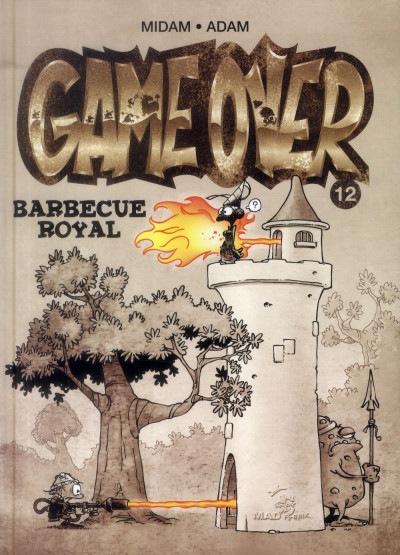 Couverture game over tome 12