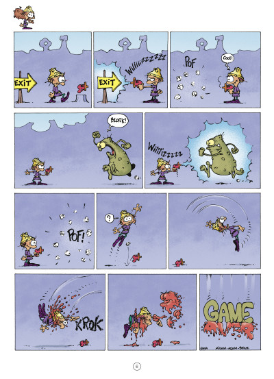 Page 4 game over tome 12