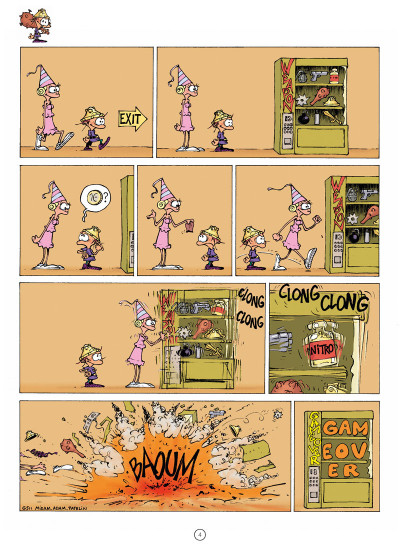 Page 2 Game over tome 13