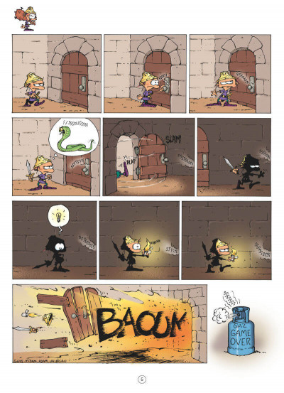 Page 3 Game over tome 17