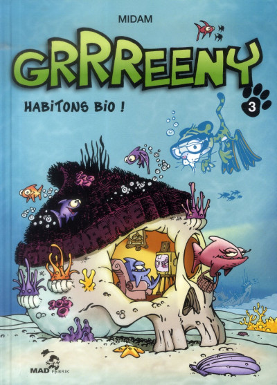 Couverture Grrreeny tome 3