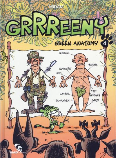 Couverture Grrreeny tome 4