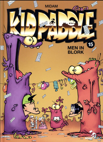 Couverture Kid Paddle tome 15