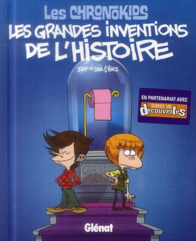 image de les chronokids ; les grandes inventions de l'histoire