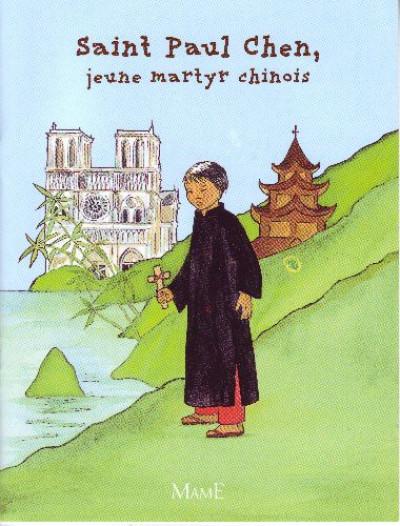Couverture saint paul chen, jeune martyr chinois