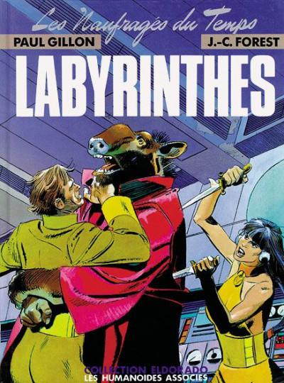 Couverture Les naufragés du temps tome 3 - Labyrinthe