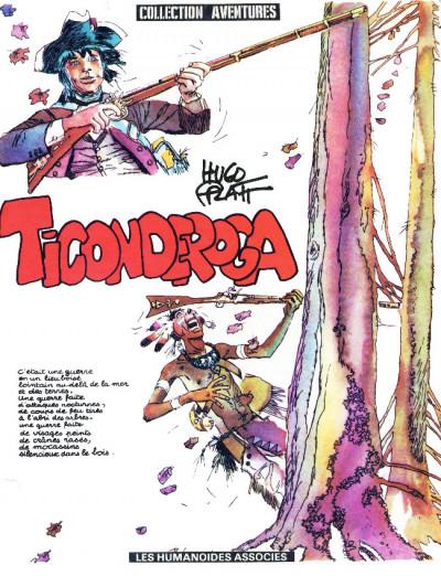 Couverture Ticonderoga (éd. 1982)