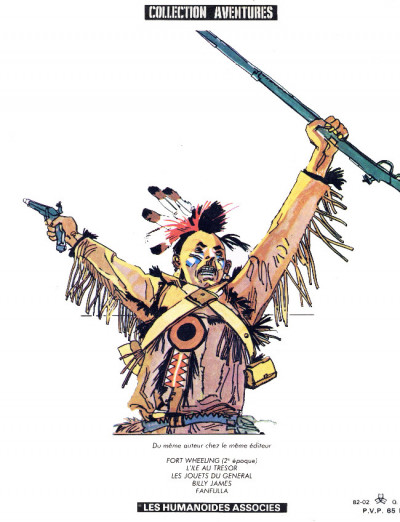 Dos Ticonderoga (éd. 1982)