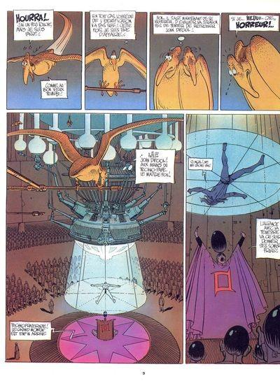 Page 1 L'incal tome 2 - L'Incal lumière