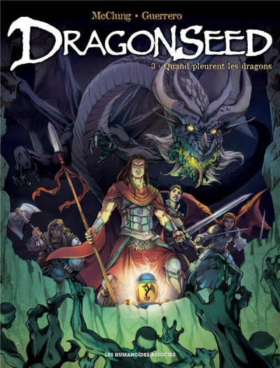 Couverture Dragonseed tome 3