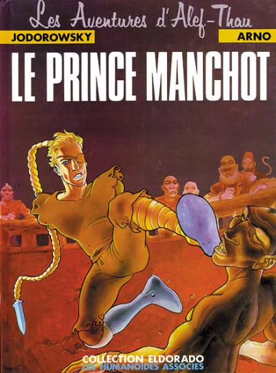 Couverture alef-thau tome 2 - le prince manchot