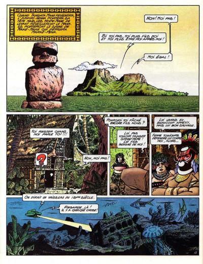 Page 1 Une aventure de Marc Mathieu tome 6 - Le retour de Tangata Manu