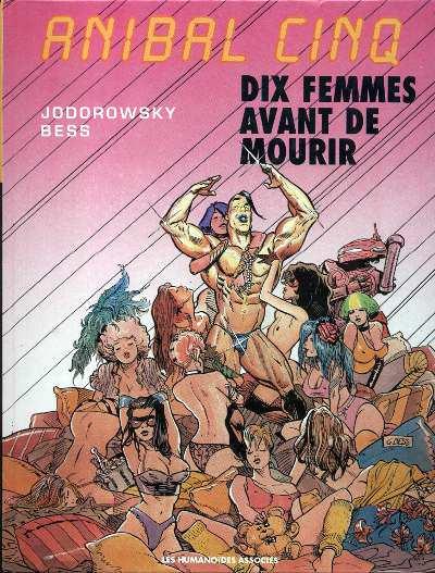Couverture anibal cinq tome 1 - dix femmes avant de mourir
