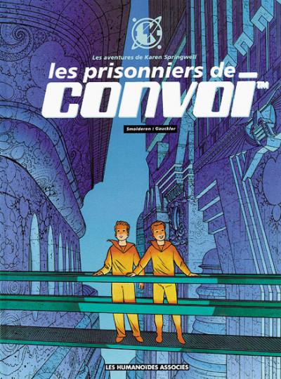 Couverture Karen Springwell tome 2 - les prisonniers de convoi
