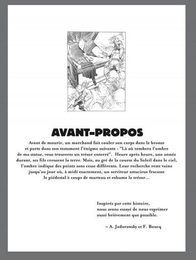 Page 2 le trésor de l'ombre ; édition luxe