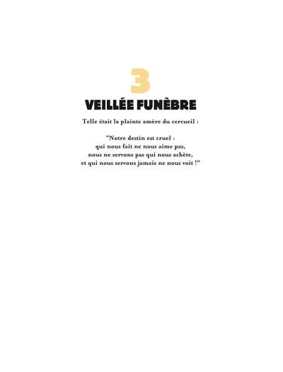 Page 9 le trésor de l'ombre ; édition luxe