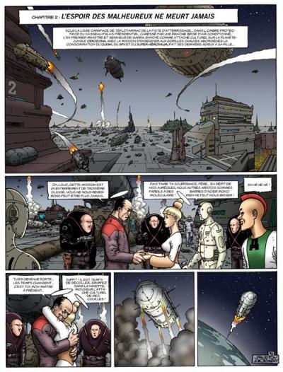 Page 2 Avant l'incal tome 5