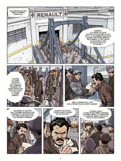 Page 1 Le vent des libertaires tome 1