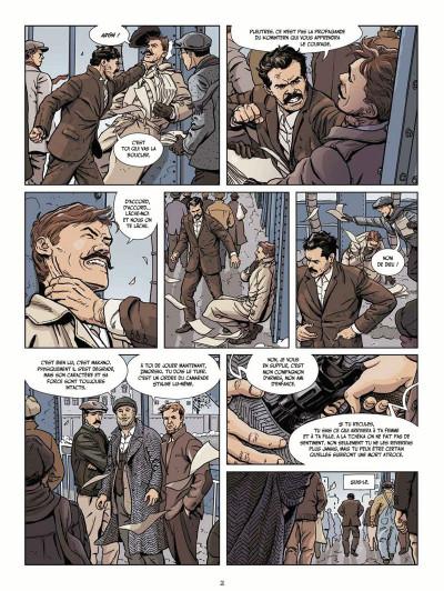 Page 2 Le vent des libertaires tome 1 + ex-libris offert