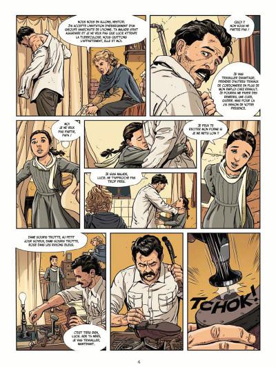 Page 4 Le vent des libertaires tome 1 + ex-libris offert