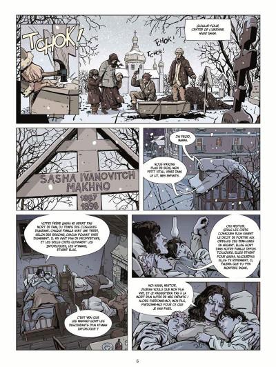 Page 5 Le vent des libertaires tome 1 + ex-libris offert