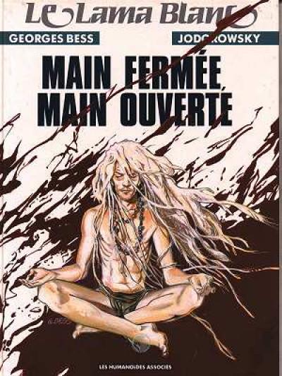 Couverture Le lama blanc tome 5 - Main fermée, main ouverte