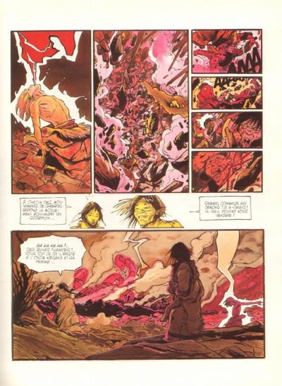Page 2 Le lama blanc tome 5 - Main fermée, main ouverte