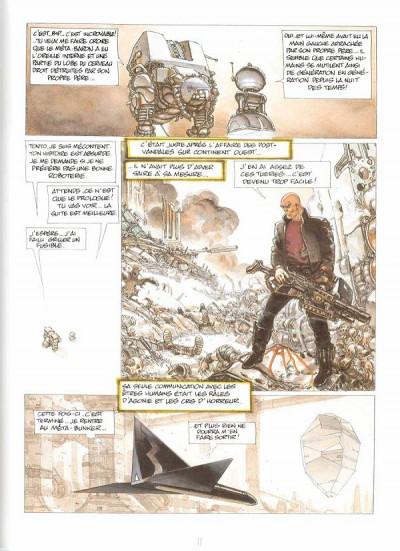 Page 1 la caste des méta-barons tome 1 - orthon le trisaieu