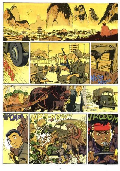 Page 1 Un dossier d'Olivier Varese tome 3 - raid sur kokoninoworld