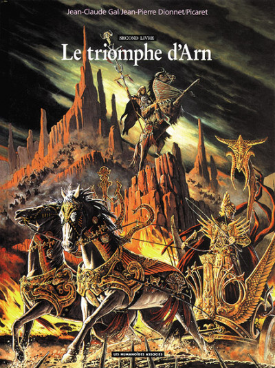 Couverture Arn tome 2 - le triomphe d'Arn