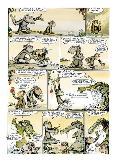 Page 4 Ni dieu ni bête tome 1 - élucubrations primales