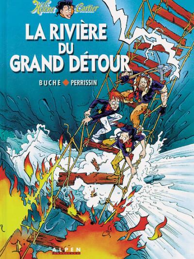 Couverture Hélène Cartier tome 2 - la riviere du grand detour