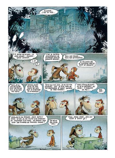 Page 3 Ni dieu ni bête tome 3 - sexe des anges et âme de la guenon
