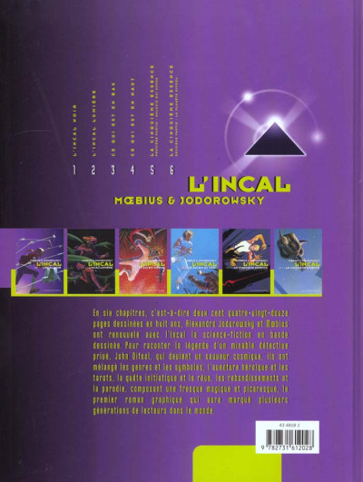 Dos l'incal tome 5 - La cinquième essence - Partie 1, Galaxie qui songe