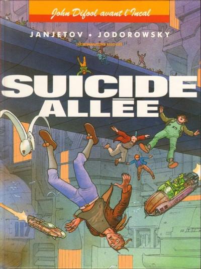 Couverture Avant l'incal tome 6 - suicide allée