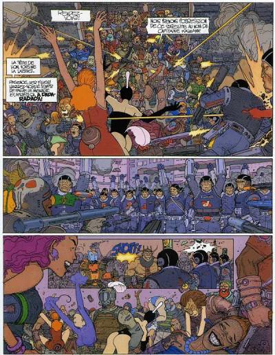 Page 1 Avant l'incal tome 6 - suicide allée