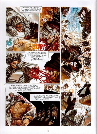 Page 1 la caste des méta-barons tome 4 - oda la bisaieule