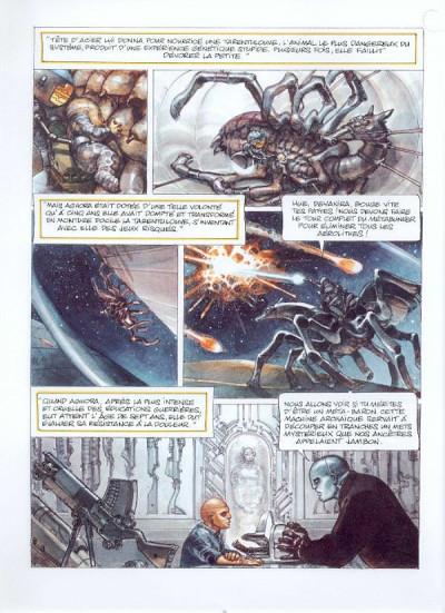 Page 1 la caste des méta-barons tome 5 - tête d'acier l'aieul