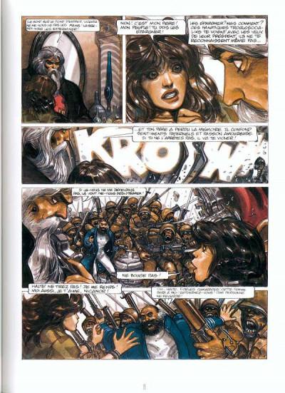Page 2 la caste des méta-barons tome 5 - tête d'acier l'aieul