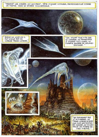 Page 3 la caste des méta-barons tome 5 - tête d'acier l'aieul
