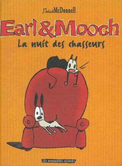 Couverture Earl et Mooch tome 1 - la nuit des chasseurs