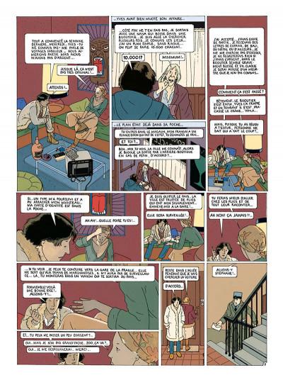 Page 8 Stéphane Clément tome 1 - le guêpier