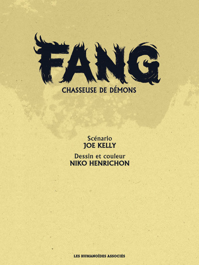 Page 1 Fang tome 1